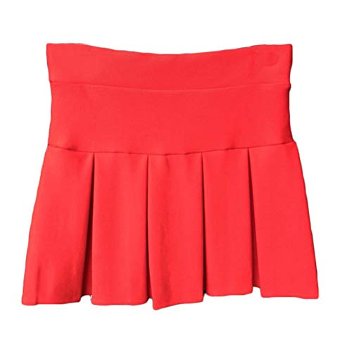 Werk zwarte vrouwen met korte sluiting gevouwen A-lijn rok charmante modieuze dames casual mini skirt om