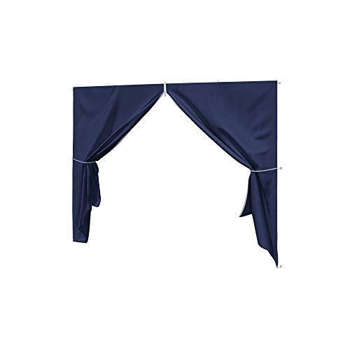 paramondo Sidewall with Zip Door for Basic or Premium Pavilion, Blue