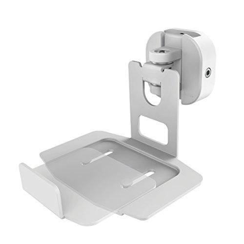 Hama 00118034 Pared Blanco soporte de altavoz - Soporte para altavoces (Pared, 5 kg, Blanco, Pared, 85°, Bose Soundtouch 10/20)