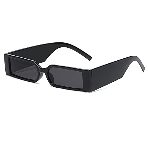 YAMEIZE Gafas de Sol Rectangulares de Gran Tamaño Vintage para Mujeres y Hombres Gafas Quadradas de Moda