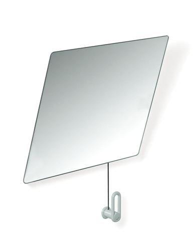 HEWI Kippspiegel Serie 801 mit B:600mm H:540mm reinweiss 801.01.100 99