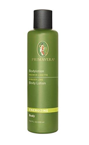 Primavera Bio belebende Körperlotion Ingwer Limette, 200 ml