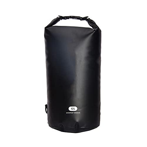 BAIEPING Bolsa Seca Impermeable Multifunción, Bolsa De Cubo Impermeable De PVC 500D para Kayak Pesca Esquí Rafting Canotaje Camping, 12L