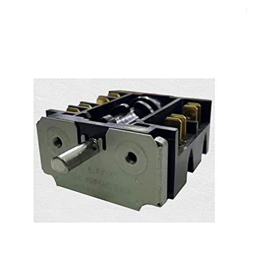 FPZHONG Interruptor De La Perilla De Alimentación Eléctrica Giratoria De 360 Grados 2 0A 16A 250V Interruptor De Engranajes Multi Range Stufe