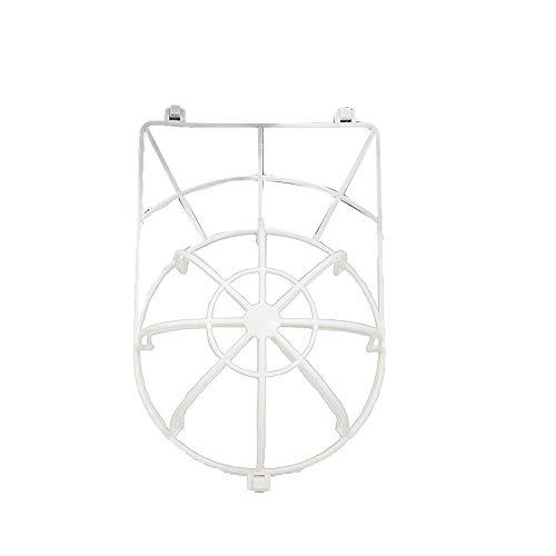 AAGOOD Ball-Kappe Waschmaschine für Waschmaschinen Hat Waschmaschine Baseballkappe Reiniger Cage Anti-Verformung Cap Wasch Schutz Weiß 1 Pc