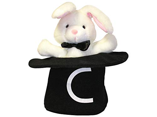 Learning Without Tears Magic-C Bunny Puppet, Current Edition- Get Set for School- Handwriting Without Tears, Pre-K–3rd Grade- Teach Capitals and Lowercase, Print and Cursive- for School or Home Use