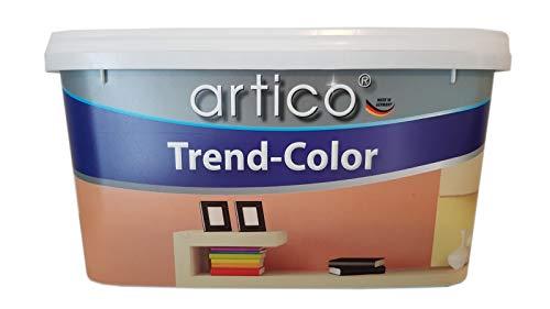 Artico Trend -Color Wandfarbe Matt Black Night Nachtschwarz 5 L
