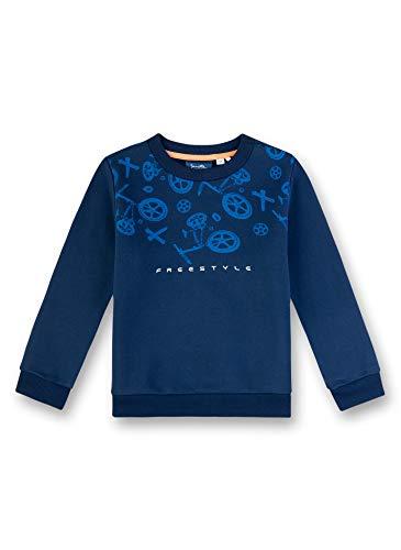 Sanetta Jungen Sweatshirt, Blau (Blau 50178), (Herstellergröße: 116)