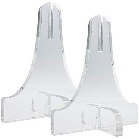 当日発送 アクリルパーテーション用 足(スタンド) 2個セット 飛沫感染予防 高透明 衝立 仕切り 脚 (アクリル板厚3mm専用)