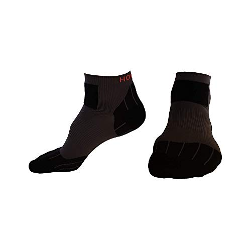 Hoplite Trail Running Socks (M): Built to Perform and Protect, for Men and Women