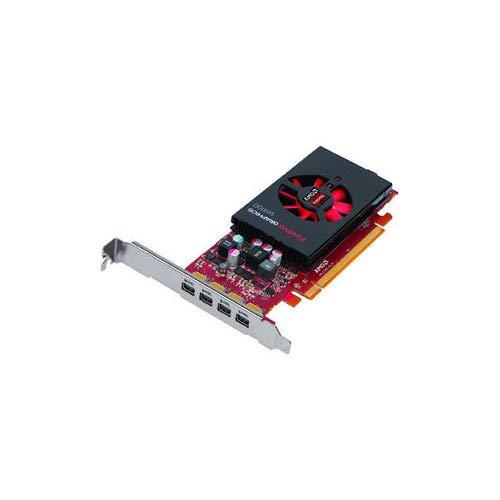 AMD FirePro W4100 2 GB GDDR5 PCIe Gen 3.0 Scheda Grafica Professionale, 4X Mini DisplayPorts OEM