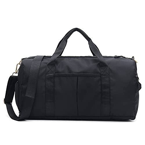 QIANJINGCQ New product Oxford cloth waterproof travel bag shoulder messenger short-distance duffel bag dry and wet separation sports gym bag backpack