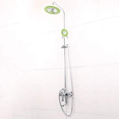 ZUQIEE Juego de ducha de baño brillante Set de ducha antioxidante pesado ducha grifo ducha ducha conjunto delicado