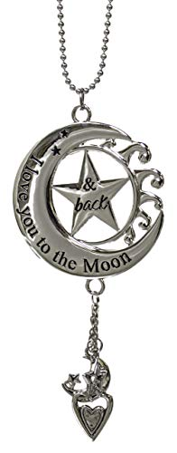 Ganz Car Charm I Love You To The Moon and Back ER27923