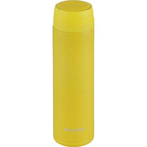 アイリスオーヤマ水筒ステンレスボトルマグボトルスクリュー300mlイエロースペアパッキン付MBS-300S