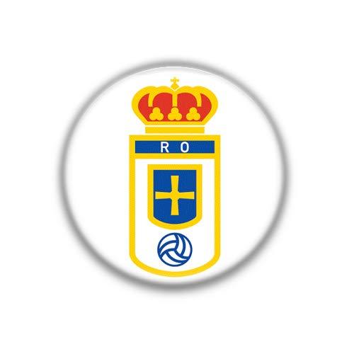 Oviedo : Liga Futbol Español, Pinback Button Magnet Badge 1.50 Inch (38mm)