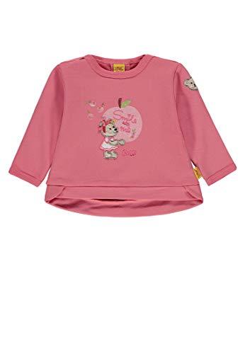 Steiff Steiff Baby-Mädchen 1/1 Arm Sweatshirt, Pink (Tea Rose|Rose 2083), 74