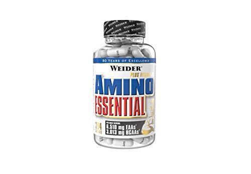 WEIDER Amino Essential, 204 Kapseln, Essentielle Aminosäuren (EAA) für Sportler