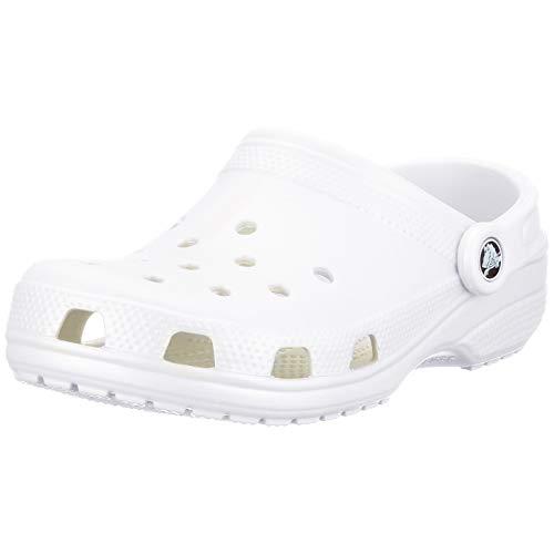 Crocs Unisex-Erwachsene Sabots Blanc Mixte Adulte Clogs, Weiß 100), 37/38 EU