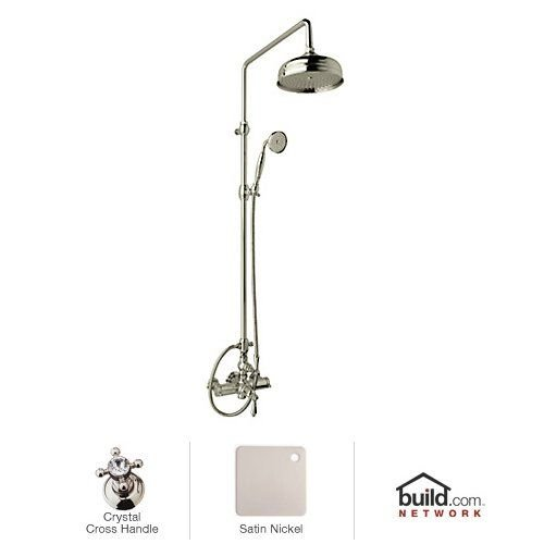 Lowest Prices! Rohl AKIT49171EXCSTN Kit Country Bath Exposed Thermostatic Shower Package with Crysta...