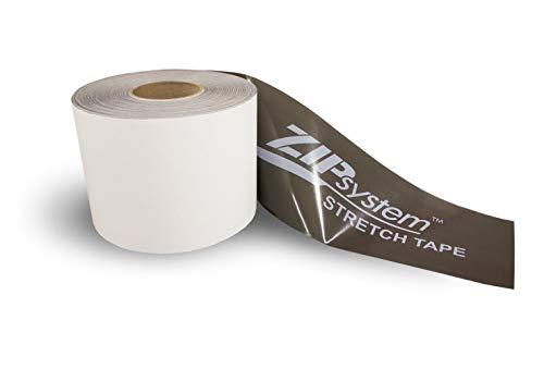 Huber ZIP System Stretch Tape | 10 inches x 75 feet | Self-Adhesive Flexible Flashing Tape for Doors-Windows B01M7VJNC8