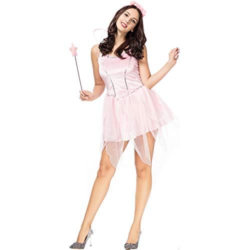 SDGFGW Halloween jurken Halloween Kostuum Volwassene Cosplay Vlinder Elf Bloem Elfje Engel