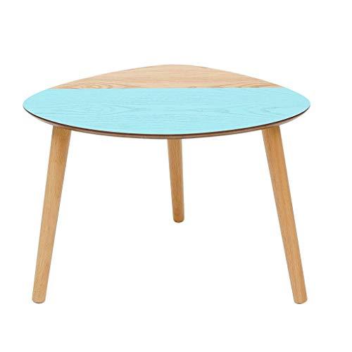 Mesa auxiliar para decoración del hogar Mesa de centro del triángulo nórdico, mesa lateral del sofá Sala de estar del gabinete lateral de la sala de estar Mesa de centro pequeña nórdica de la sala de