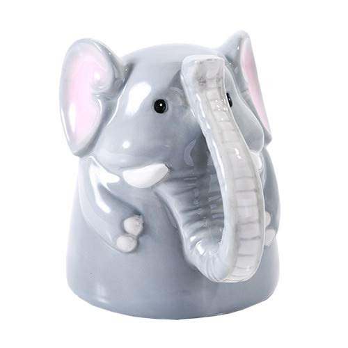 Pacific Giftware Topsy Turvy Coffee Mug Adorable Mug Upside Down Tea Home Office Decor (Elephant)