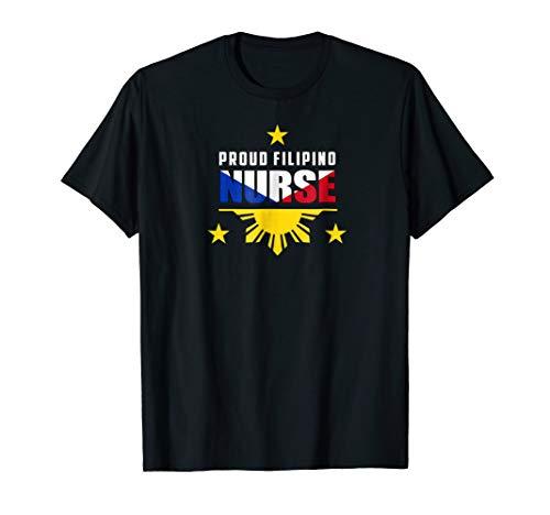Proud Filipino Nurse Shirt