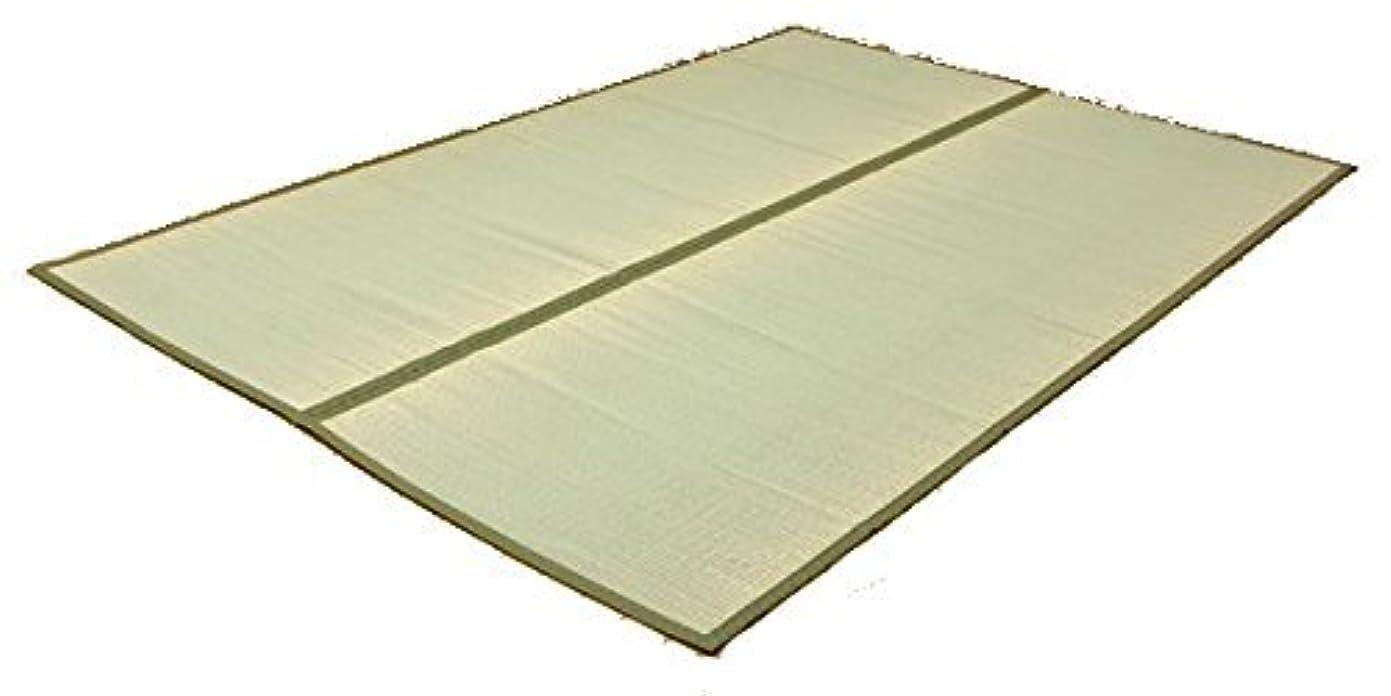 理想的振り返る彫刻家国産い草上敷きカーペット『 草津 』サイズ:江戸間1畳(88×176cm)(#1100631)イ草 敷き詰め ござ 茣蓙 ゴザ 節電 畳 たたみ いぐさ