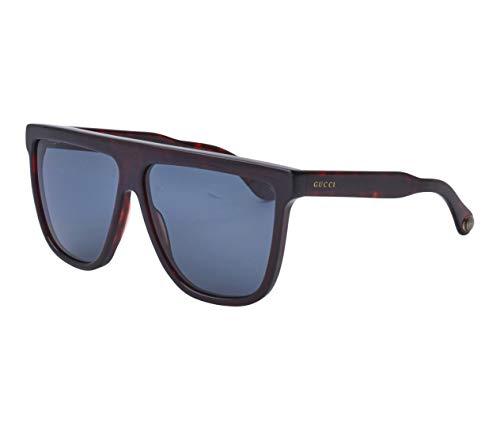 Gafas de Sol Gucci GG0582S DARK HAVANA/BLUE 61/12/145 hombre