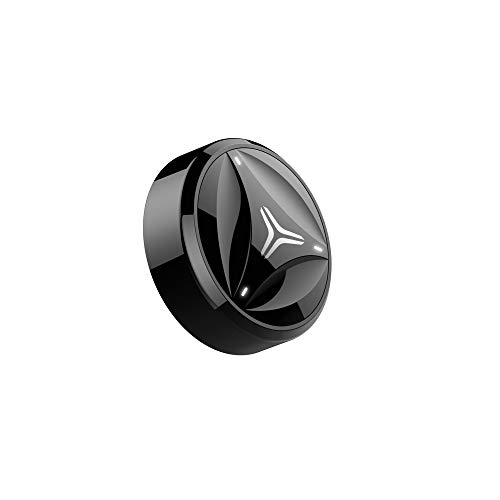 Coollang, rilevatore di movimento per racchetta da tennis, con Bluetooth 4.0, compatibile con smartphone Android e iOS, colore: nero