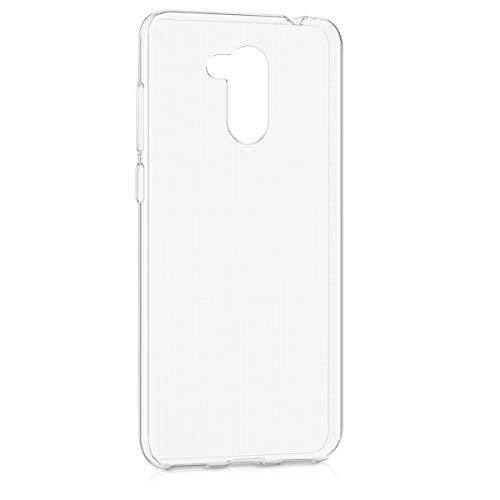 kwmobile Cover Compatibile con Honor 6C PRO - Custodia in Silicone TPU - Back Case Cover Protezione Posteriore - Trasparente