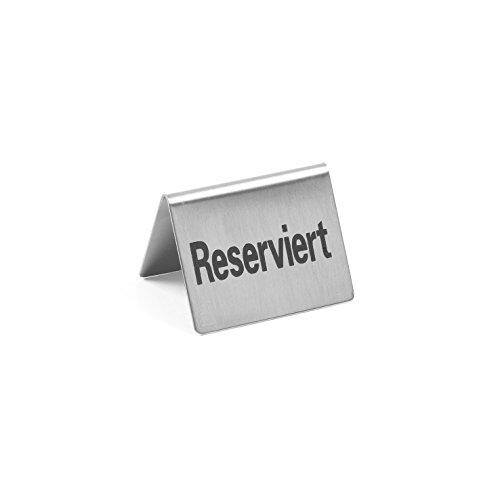 HENDI Tischschild Reserviert,