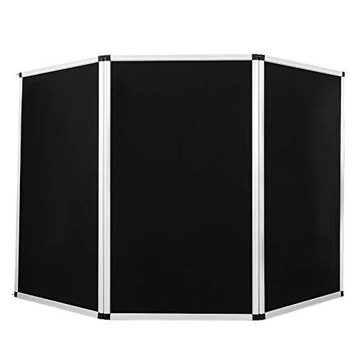 Guellin 180X90cm Biombos 3 Piezas Biombo Plegable Separador de Espacios para Museos, Bibliotecas, Exposiciones Panel de Presentación (180X90cm)