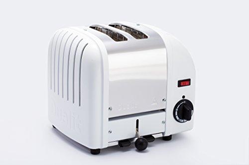 【正規輸入品】 イギリス Dualit (デュアリット) トースター 2枚焼 【1年保証付】 英国 MADE IN ENGLAND (ホワイト)