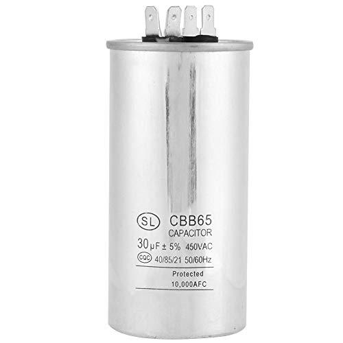 CBB65A-1 Condensatore del motore, 30uF AC 450V Condensatore cilindrico per i motori del condizionatore d'aria Frigorifero 50 / 60Hz