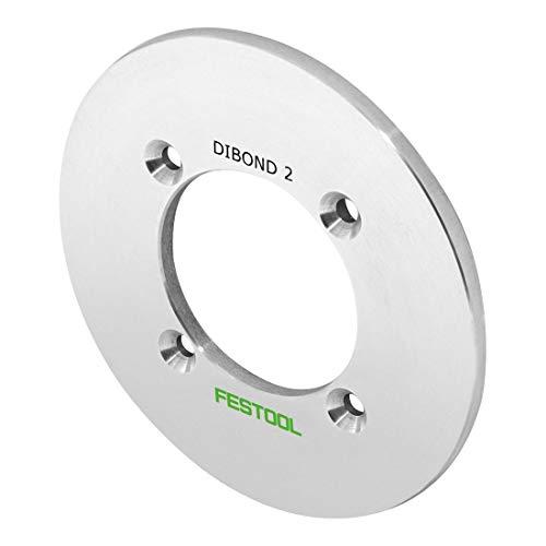 Festool-rullo 491543 spanslot voor boormachine in platen, panelen Sandwich D3 van aluminium