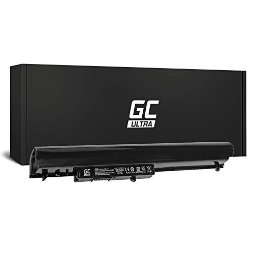 Green Cell® Ultra Serie OA04 Batería para HP 240 G2 G3 | 245 G2 G3 | 246 G3 | 250 G2 G3 | 255 G2 G3 | 256 G3 | 15-D 15-G 15-H 15-R Ordenador (Las Celdas Originales Panasonic, 3400mAh, Negro)