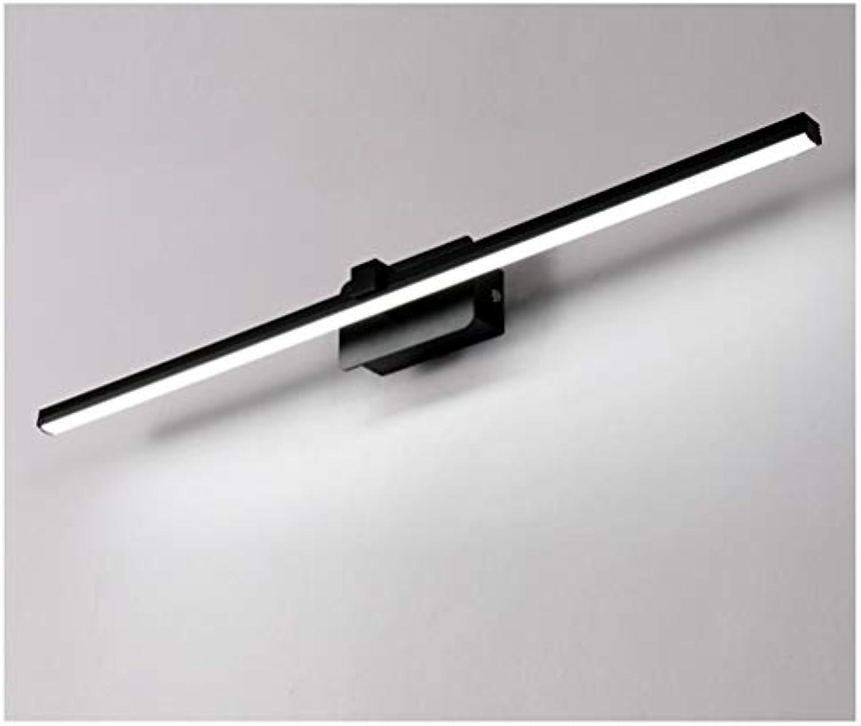 MWG Spiegel Frontleuchte Led, wasserdicht und Anti-fog Bad Badezimmer Wandleuchte Spiegel Kabinett Licht Schlafzimmer Spiegel Scheinwerfer -46874 (Farbe   Weies Licht-40 cm)