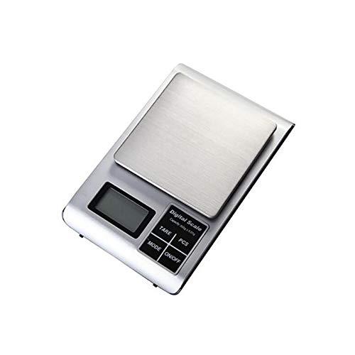 500g * 0,01g máquina de pesaje de cocina laboratorio balanzas médicas pantalla electrónica de equilibrio de alimentos herramientas de cocina digitales mecánicas