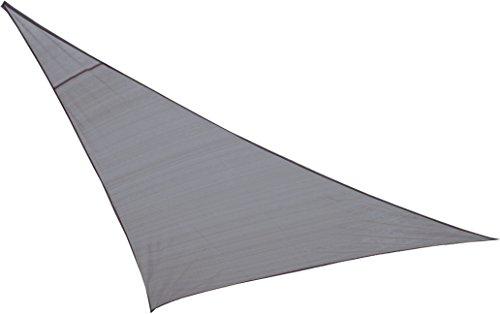 High Peak Bermuda Tarp Voile d'ombrage Gris 360 x 360 cm