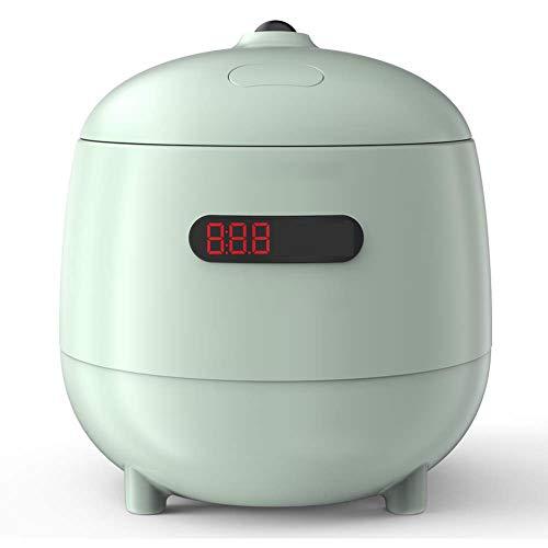 RHSMW Olla eléctrica, Mini Olla arrocera pequeña hogar automático 1.2L Olla arrocera automática multifunción Mini Olla portátil