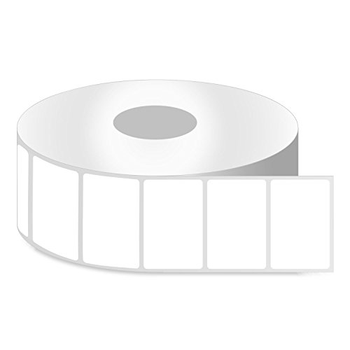 """2"""" x 1"""" [ OfficeSmartLabels ] Removable Direct Thermal Labels, Compatible with Zebra Printers Postage Barcode Shipping Desktop Printer Sticker - 4 Rolls / 1"""" Core"""