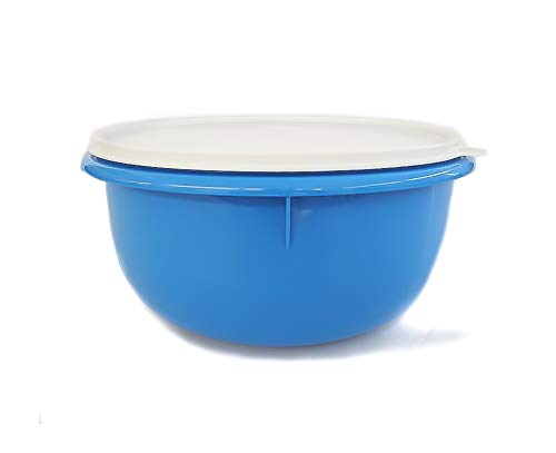 Tupperware Rührschüssel Peng 3,0L blau Hefeteig B11 Hefe Teig Germteig Schüssel MIT Geschenk 452