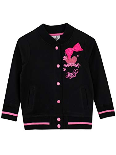 JoJo Siwa Girls' Jo Jo Jacket Size 6 Black