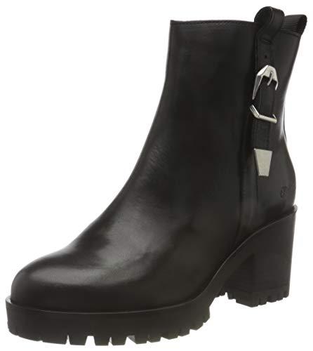 Buffalo Damen Maddie Mode-Stiefel, Black, 39 EU