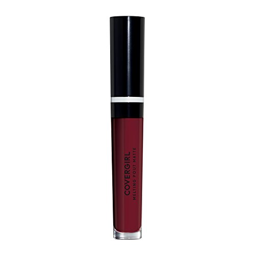 COVERGIRL Melting Pout Matte Liquid Lipstick, All Nighter, 1 Count