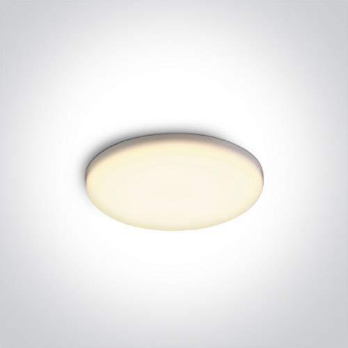 ONE Light - 10108CF/W LED sin marco 8W WW IP65 230V