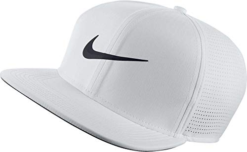 Nike AeroBill Adjustable Cap, White/Anthracite/Black, One Size